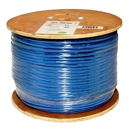 Vertical Cable Cat6, 550 MHz, Shielded, 23AWG, Solid Bare Copper, 1000ft