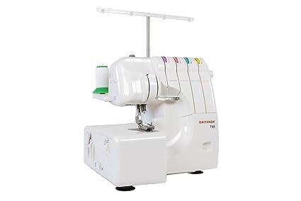 Gritzner 788 - Máquina de coser (Máquina de coser semiautomática, Blanco, Overlock,