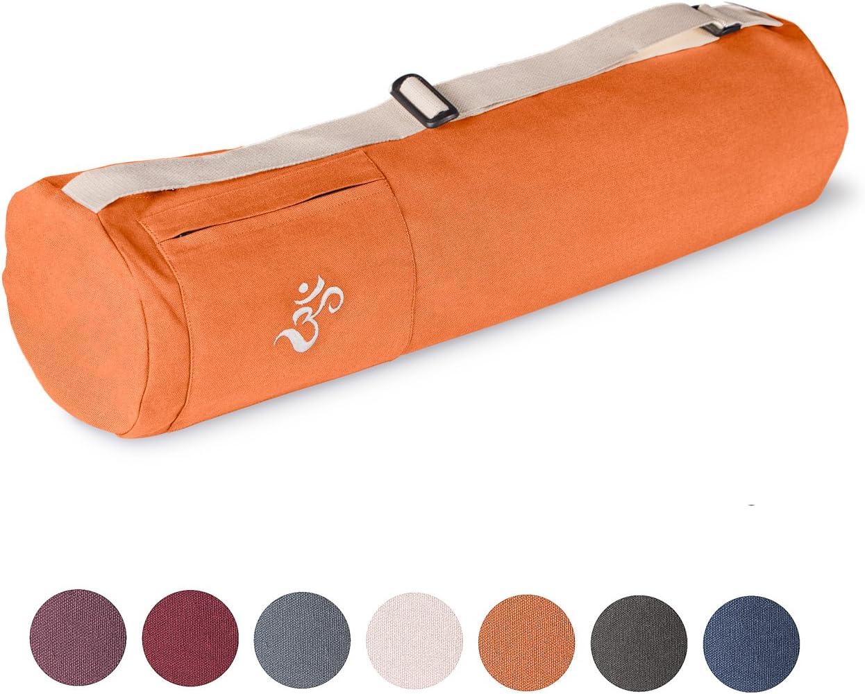Yoga Mat Cover Yoga Equipment Bag Yoga Bag for Yoga Mat Yoga Mat Carrier Bag Fair /& Ecological GOTS Certified Yoga Bag Made of 100/% Organic Cotton Lotuscrafts Yoga Mat Bag MYSORE