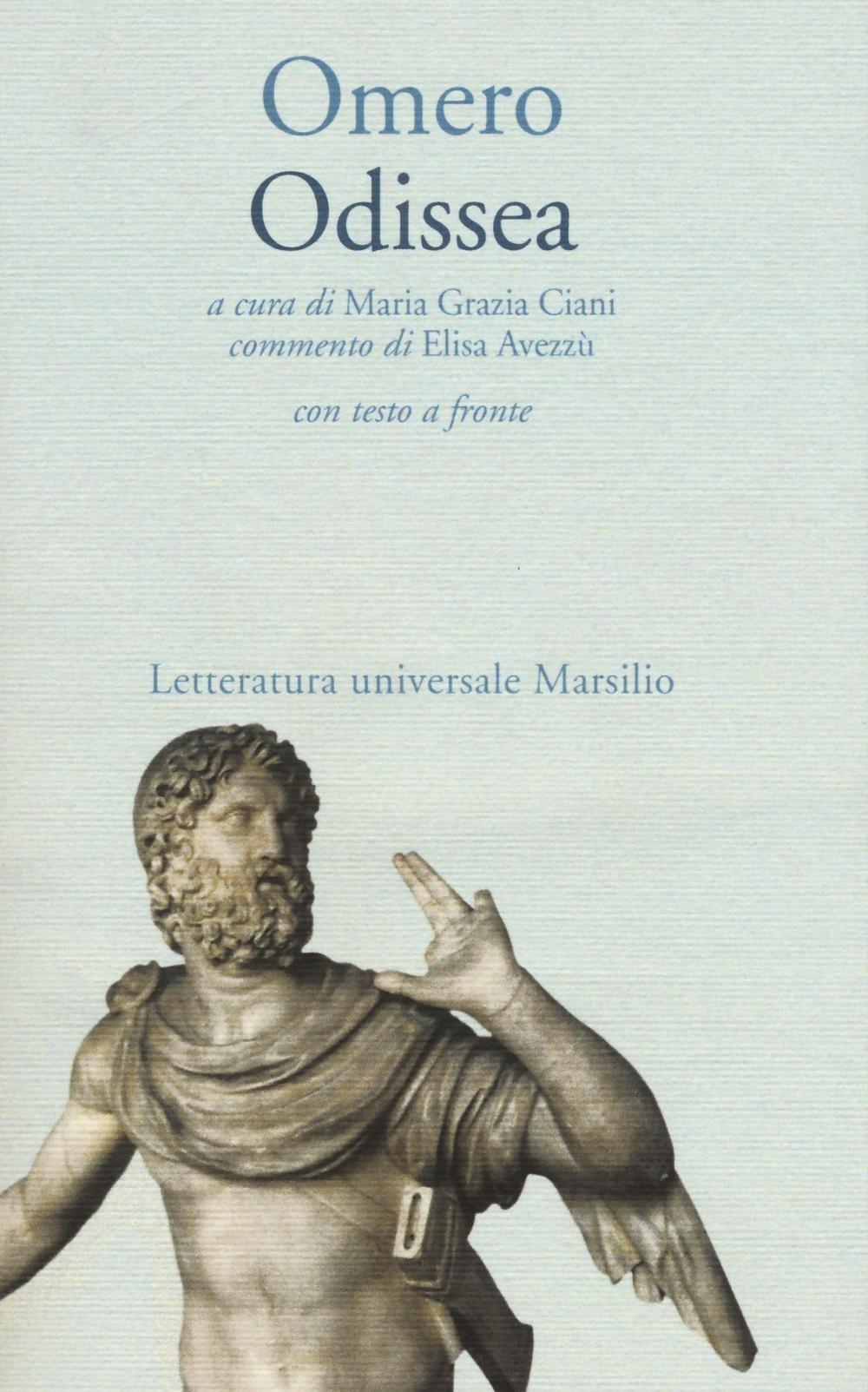 Odissea Testo Greco A Fronte Omero 9788831723244 Amazon Com Books