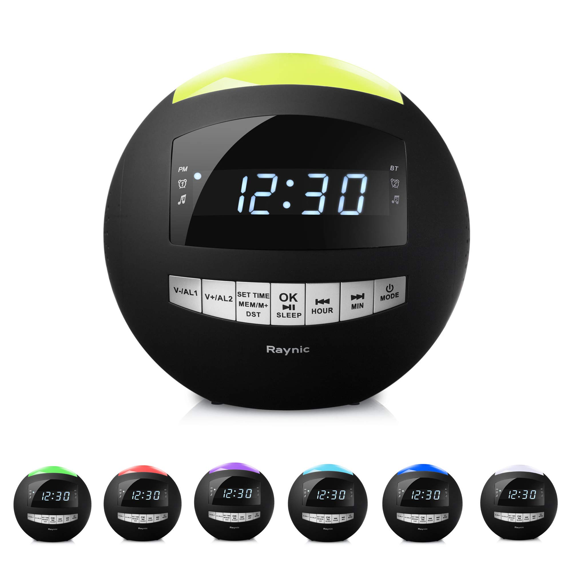 Digital LED Alarm Clock Bluetooth Speaker