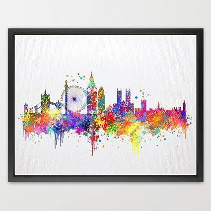 Dignovel Studios Skyline Di Londra Città Del Regno Unito