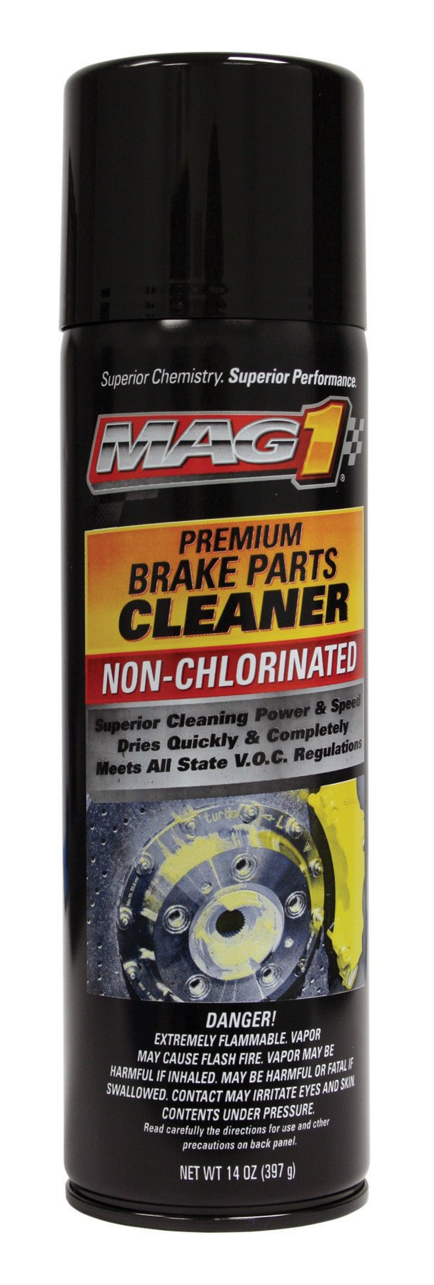 MAG1 579-pk12 Non-Chlorinated Brake Parts Cleaner - 14 oz., (Pack of 12) by Mag 1