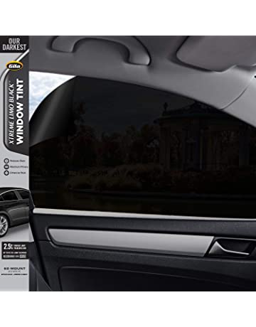 Gila Xtreme Limo Black 2.5% VLT Automotive Window Tint DIY Glare Control UV Blocking 24in