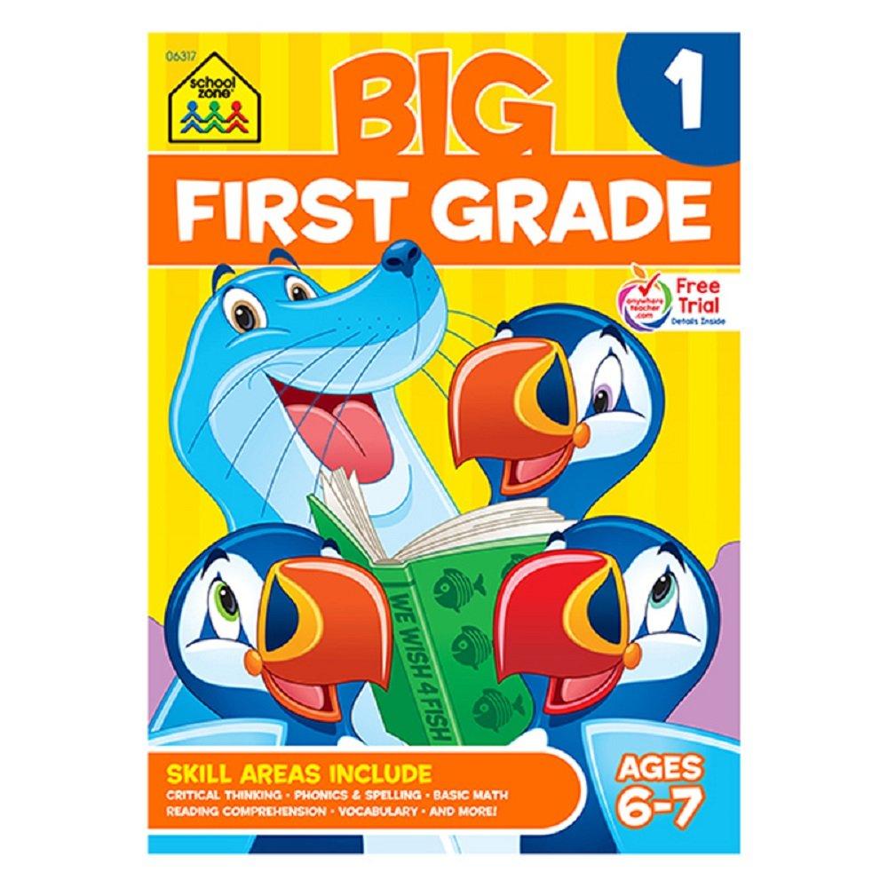 Workbooks big third grade workbook : Amazon.com : * BIG FIRST GRADE WORKBOOK by EDR : Early Childhood ...