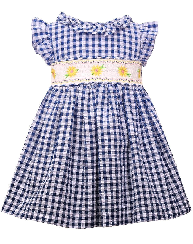 Bonnie Jean Easter Dress Smocked Spring Summer Dress for Baby Toddler and Little Girls