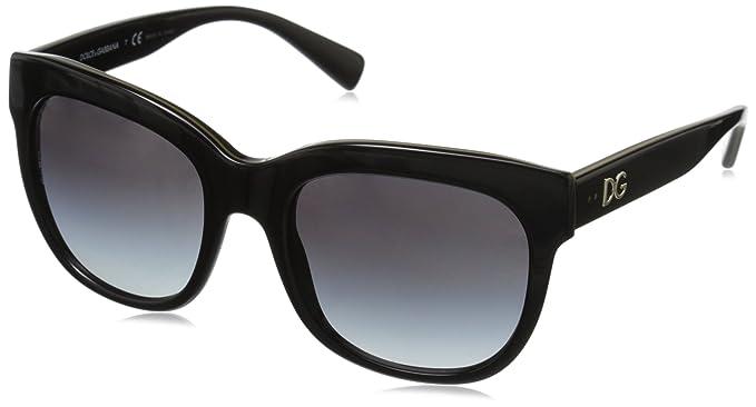 90ea7e3c1c99 Amazon.com  D G Dolce   Gabbana Women s 0DG4272 Square Sunglasses ...