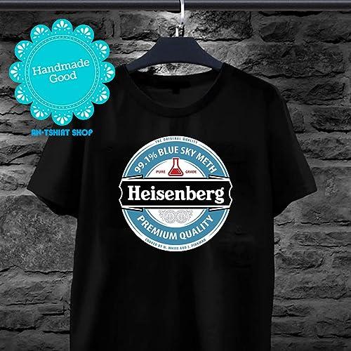 b8d98e1f124f Amazon.com: Werner Heisenberg Heineken T shirts for men and women: Handmade