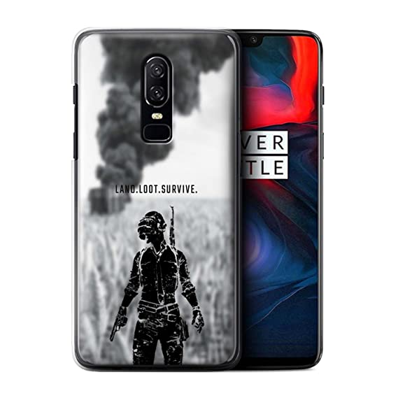 Amazon Com Stuff4 Phone Case Cover For Oneplus 6 Land Loot Survive