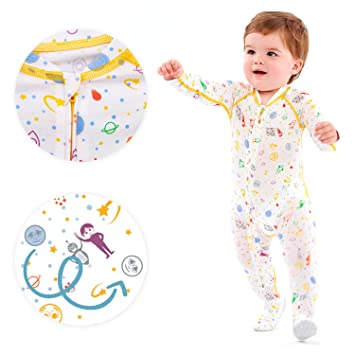 8e24cb021700 Eczema Sleepsuit for Babies - Itch Relief for Moderate to Severe Baby Eczema  with No Scratch