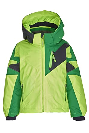 Kindermode die mitw/ächst GROW UP Funktion Funktionsjacke mit Kapuze und Schneefang Killtec Jungen Stripy Mini Skijacke