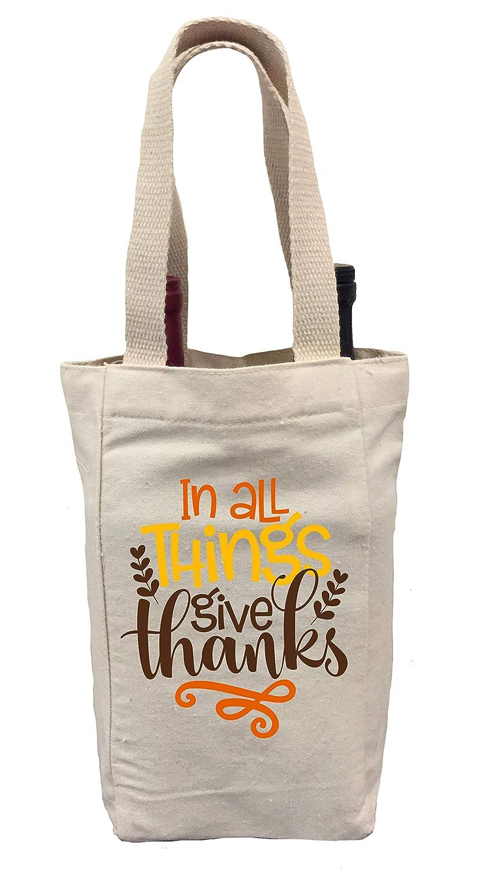 Thankful Wine Tote
