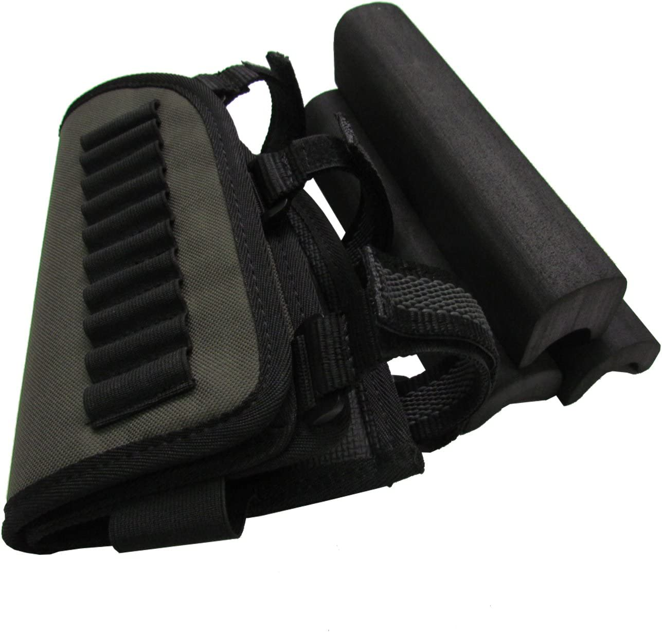 Tourbon buttstock Rifle L/áser Soporte mejilla Resto Bolsa