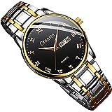 腕時計 メンズ 超薄型 7MM ククラッシー Croaira 腕時計 月 50mm 生活防水