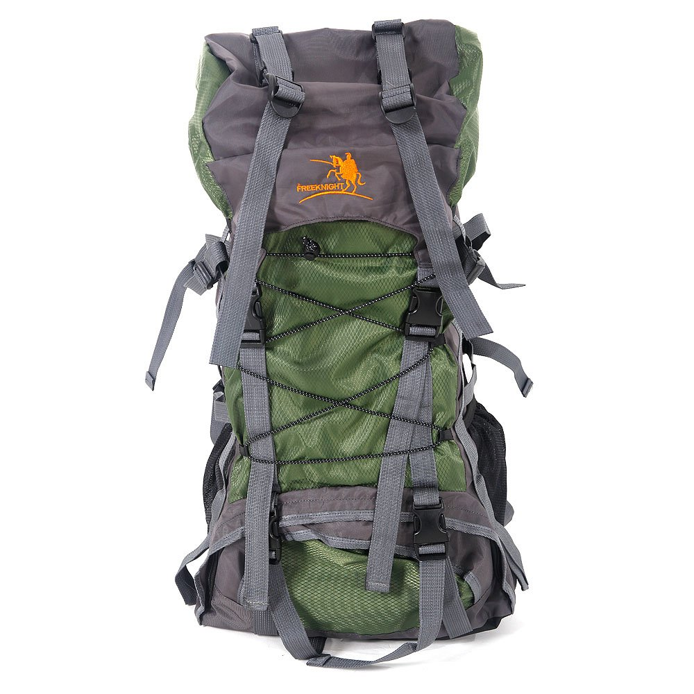 Free Knight SA008 60L Hiking Camping Backpack Outdoor Waterproof Daypack (Green) by Free Knight