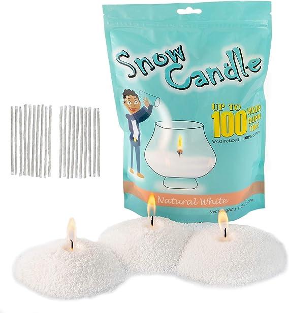 Phthalate free Alpine Snowdrift Candle 100/% soy wax Winter