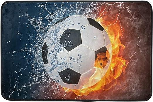 Felpudo de agua para entrada de balón de fútbol, para deportes de ...
