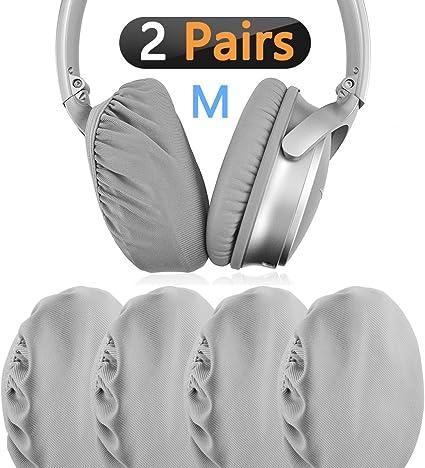 Almohadillas Geekria para AKG K550 K551/K553/auriculares de repuesto almohadillas para auriculares//Ear Cushion//Ear Cups//orejas Cubierta//almohadillas piezas de reparaci/ón gris
