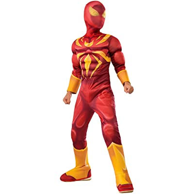Rubie's Costume Spider-Man Ultimate Deluxe Child Iron Spider Deluxe Child Costume, Medium: Toys & Games