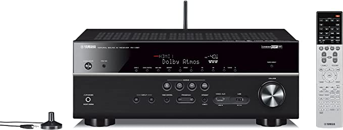 Yamaha RX-V681 7.2-Channel Network A/V Receiver with Bluetooth and Wi-Fi
