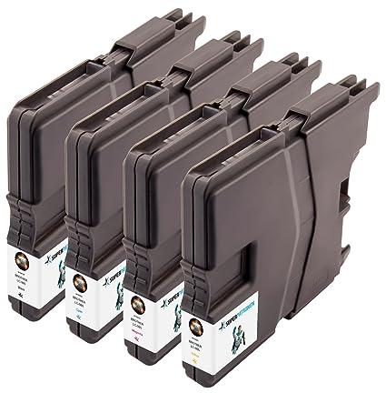 4 Premium Cartuchos de impresora original Brother LC de ...