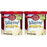 Betty Crocker Whipped Butter Cream Frosting, 12 oz, 2 pk