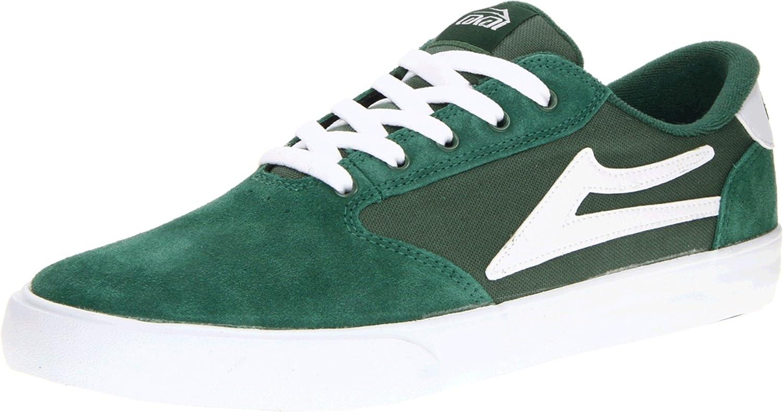 Lakai pico green white suede Vert - Livraison Gratuite avec - Chaussures Chaussures de Skate Homme