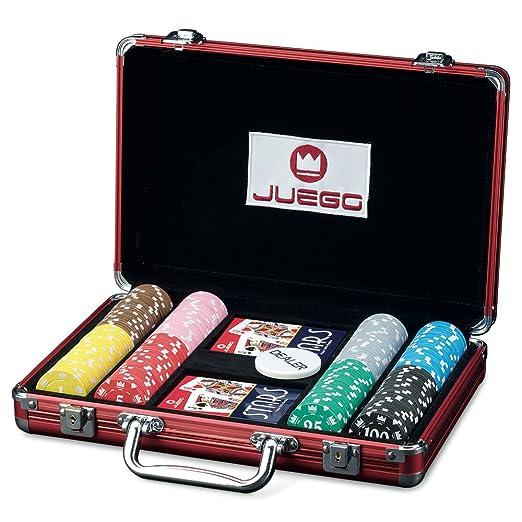 22 opinioni per Juego Ju00371- Poker 200, Valigetta In Alluminio Con Carte e Fiches, Gioco di