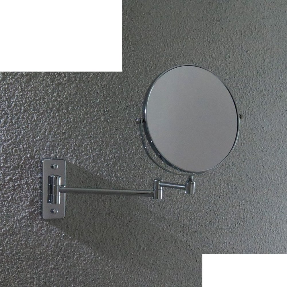 Cheap Copper Double Sided Mirror Bathroom Wall And Telescopic Retractable