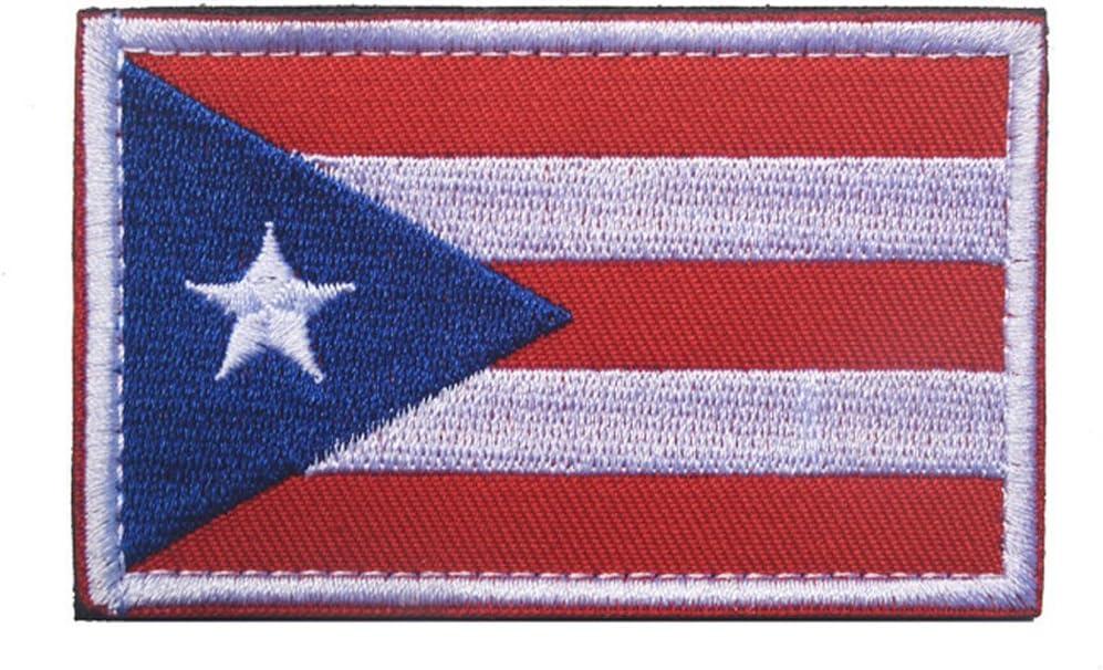 TopAAA - Parche de velcro táctico con bandera de América del Sur bordado militar: Amazon.es: Juguetes y juegos