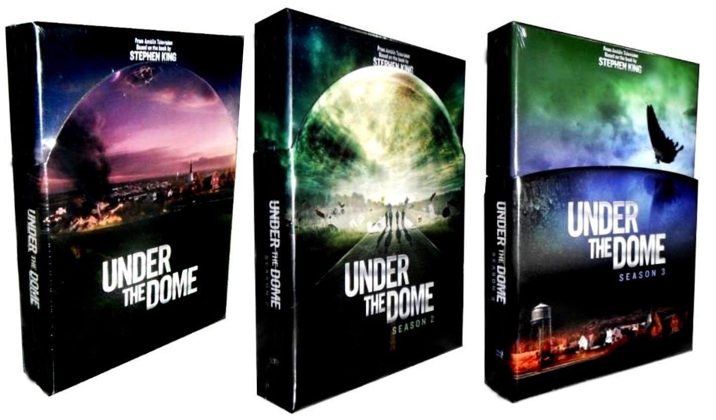 Amazon: Under The Dome :plete Seasons 1  3 Collection (12disc,  Dvd, 2015): Colin Ford, Eddie Cahill, Alexander Koch, Dean Norris, Rachelle  Lefevre
