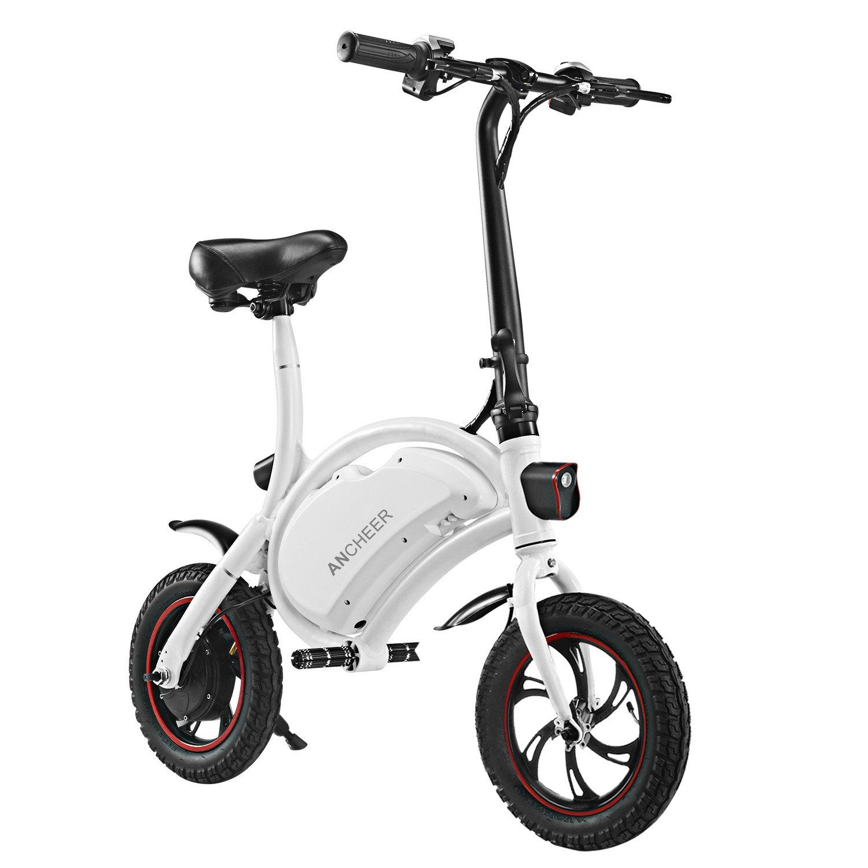 Ancheer - Patinete eléctrico Plegable para Bicicleta (350 W ...