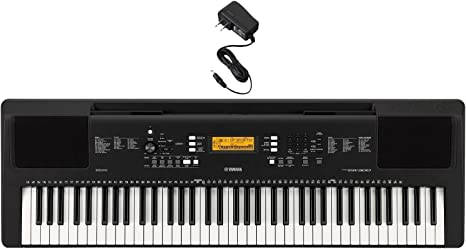B-WARE Digital 61-Tasten Keyboard E-Piano 300 Sounds /& Rhythmen Recording LED