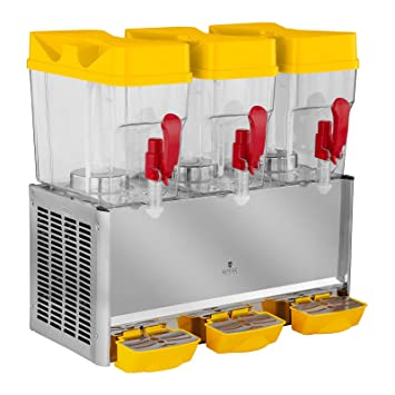 Royal Catering Dispensador De Bebidas Frías RCSD-54C (3 x 18 L, 390