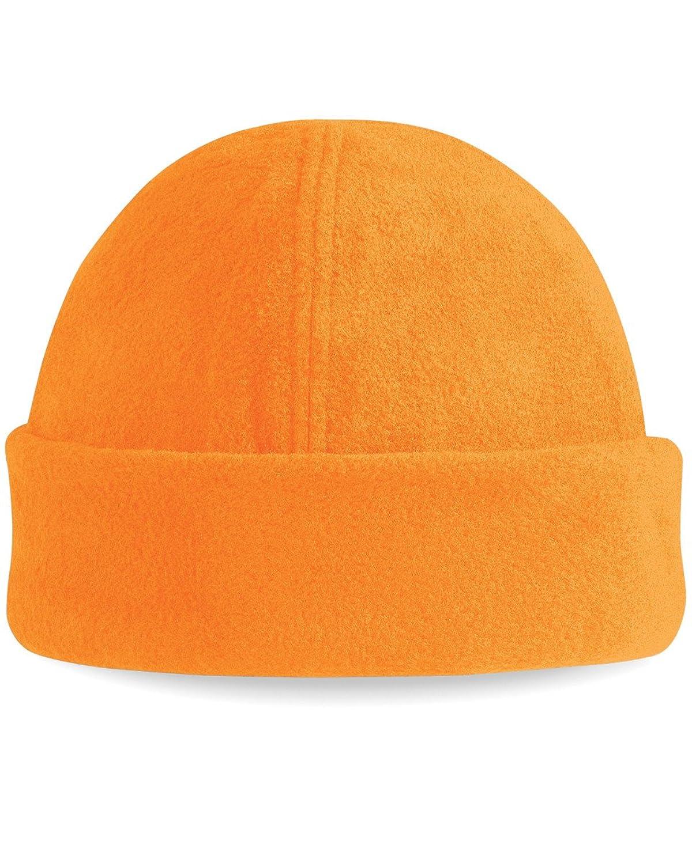 Beechfield B243 Suprafleece Ski Hat Fluorescent Orange