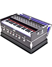 Harmonium- 3 1/4 Octave, Double Bellow, 39 Keys,7 Stopper, Bass- Male Reed With Cover