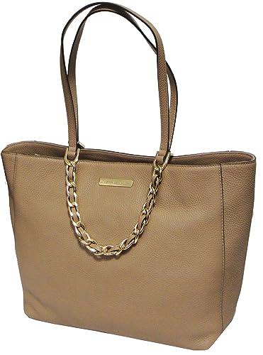 0c45e221c78d0c Michael Kors Harper Large East West Tote Bag Genuine Leather Dark Khaki:  Handbags: Amazon.com