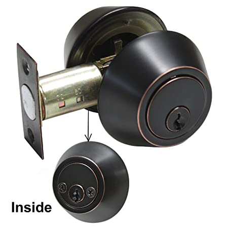 Door Hardware & Locks Probrico Security Door Lock With Key