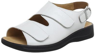 Ganter Monica Weite G 5-202511-01000 Damen Sandalen Weiß (weiss 0200) 41 EU (7 UK)