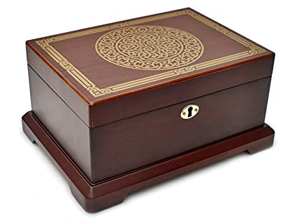 Amazoncom Le Grande Jewelry Box Unique High End Antique Wooden