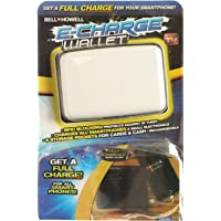 E-Charge 1701FEG Wallet Phone Charger Power Bank, White