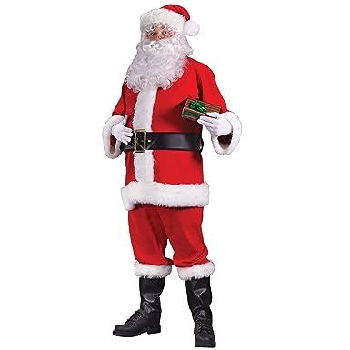 Amazon.com: Regency rojo traje de Santa Claus – Adult Plus ...