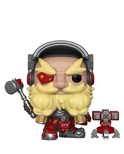 amazon com funko pop games overwatch torbjörn collectible figure