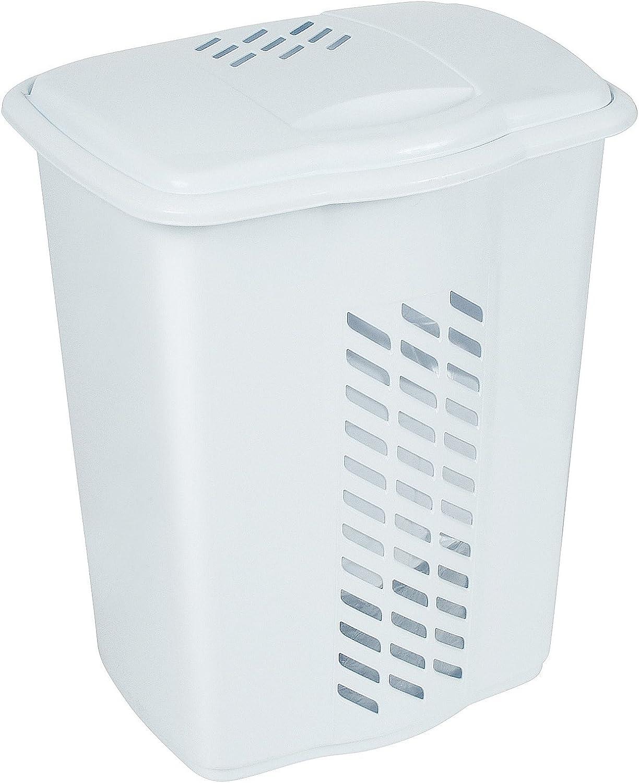 Laundry Hamper 1.70 Bushel 60 Liter (White)
