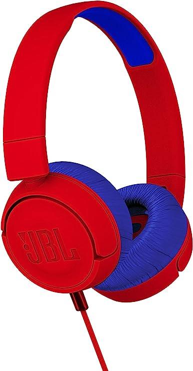 Amazon Com Jbl Jr300 Kids On Ear Bluetooth Headphones Red Musical Instruments