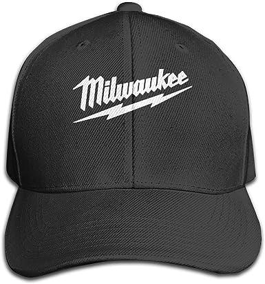 Power Tool Logo Milwaukee - Gorra de sándwich Ajustable, Color ...
