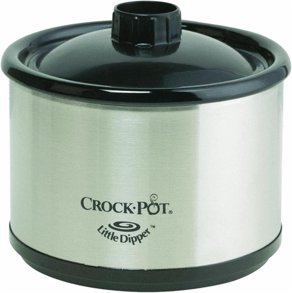 Crock Pot 32041-C Stainless Steel Little Dipper Warmer