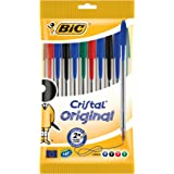 BiC Cristal Original 1.0 mm Ball Pen Pack of 10