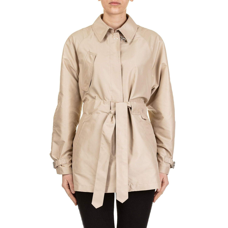 Fay Women's NAW61383410AXXC003 Beige Polyester Trench Coat
