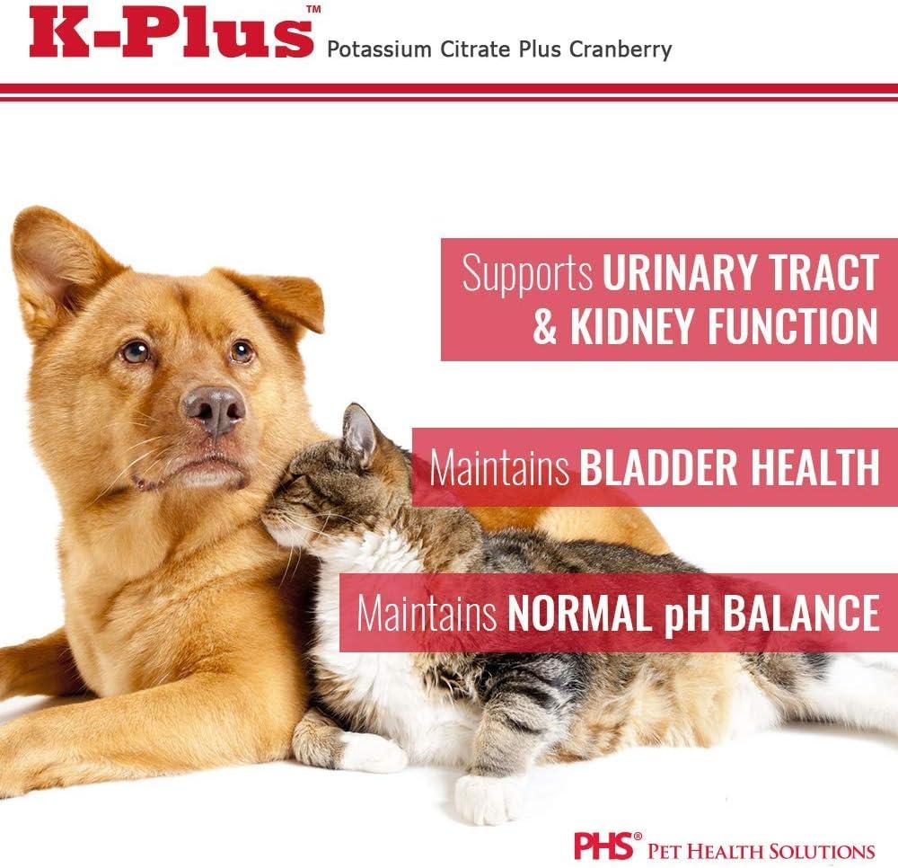 Pet Health Solutions K-Plus Potassium Citrate Plus Cranberry 300g Granules